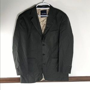 Men's Nautica checkered wool blazer size 42L